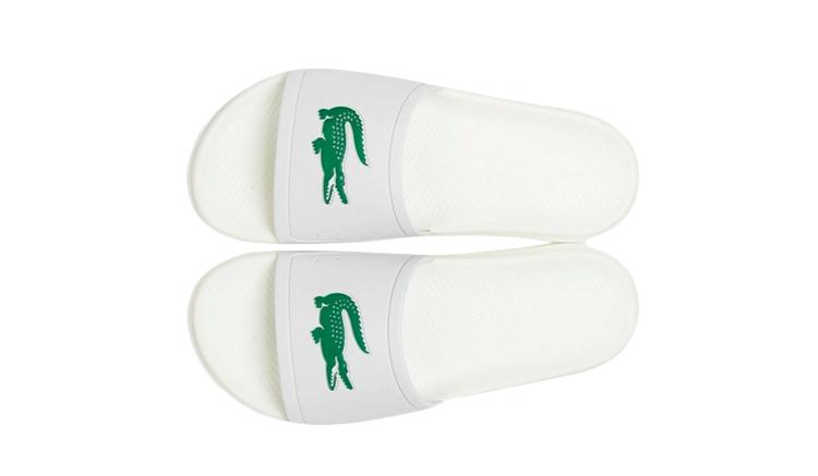 blanco-lacoste-croco-slides