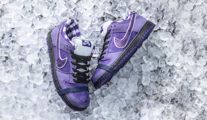 Continúa la saga con las Concepts x Nike SB Dunk Purple Lobster