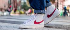 Fotos on feet Nike Blazer Mid 77 Vintage un clasicazo disponible!!!