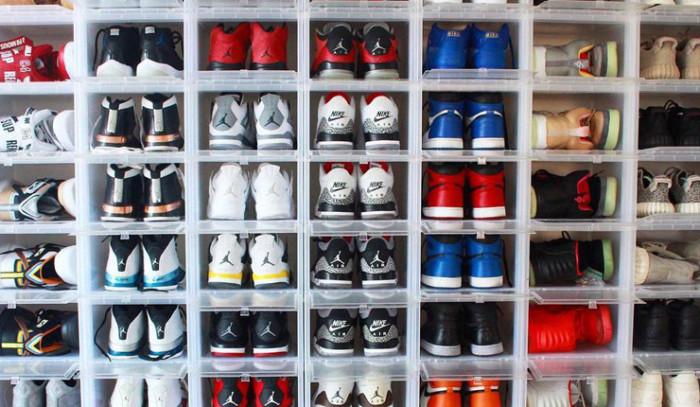 Cajas para Sneakers, un poco de orden en tu cuarto...