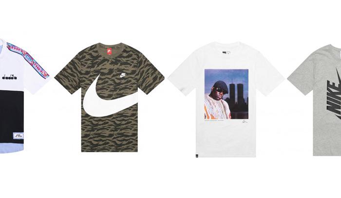 10 Camisetas Potentes para empezar el verano…