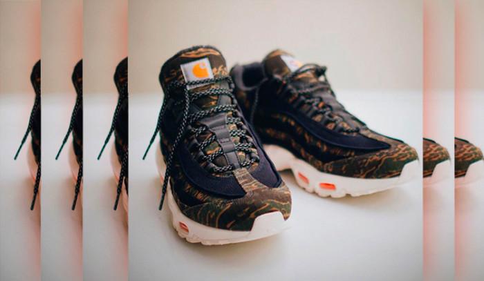 Primeras imágenes de las Carhartt x Nike Air Max 95
