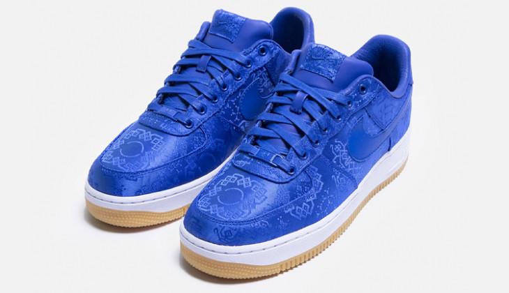 Las CLOT x Nike Air Force 1 Blue Silk  ya tienen fecha oficial de lanzamiento!