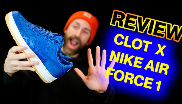BackseriesTv: Review Clot x Nike Air Force 1