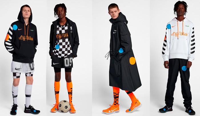 La colección Football Mon Amour de Off White x Nike está a punto de salir