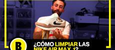 Backseries Youtube: Cómo limpiar Nike Air Max 1 sin usar lavadora !