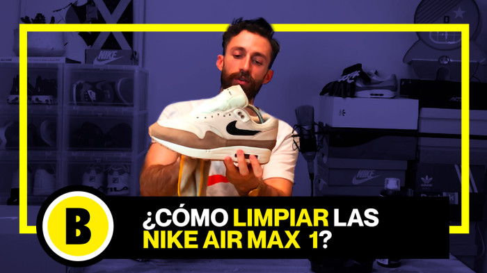 Backseries Youtube: Cómo limpiar Nike Air Max 1 sin usar lavadora !
