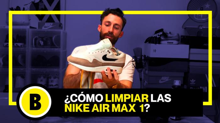 BackseriesTV: Cómo limpiar Nike Air Max 1 sin usar lavadora !