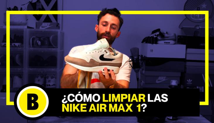 BackseriesTV:Tutorial cómo limpiar Nike Air Max 1 sin usar