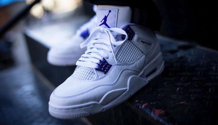 Air Jordan 4 Metallic Purple, inspiradas en las J1!