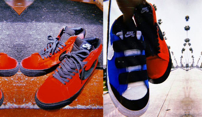 A las Kevin Bradley x Nike SB Blazer Orange Label les sobra personalidad.