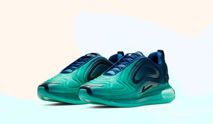 Ojo con estas Nike Air Max 720 Green Carbon!