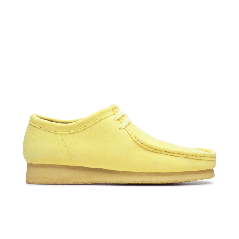 Clarks Wallabee Pale Yellow