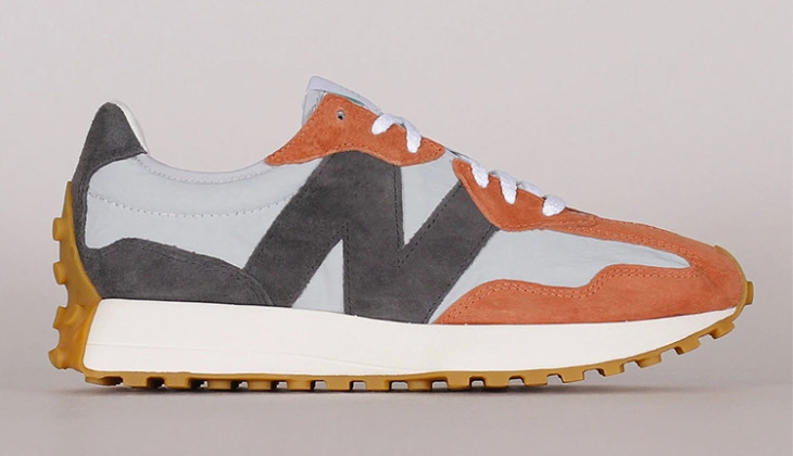 New Balance 327 Brown Grey