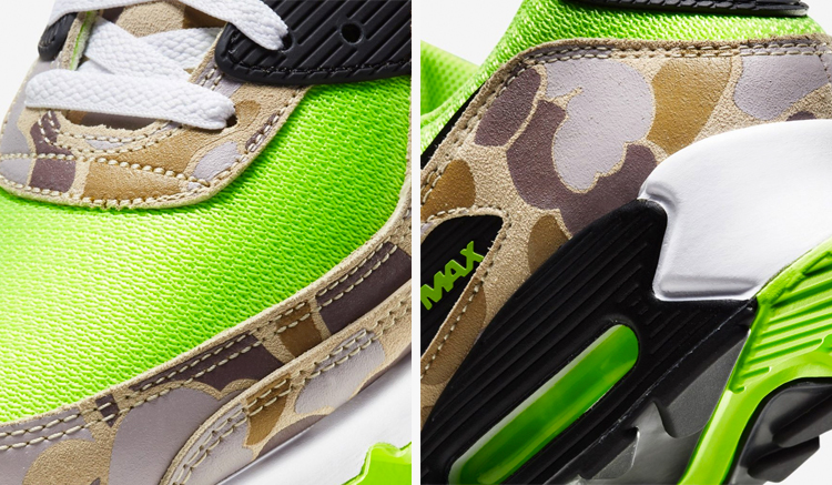 Nike Air Max 90 Duck Camo Green Volt CW4039-300