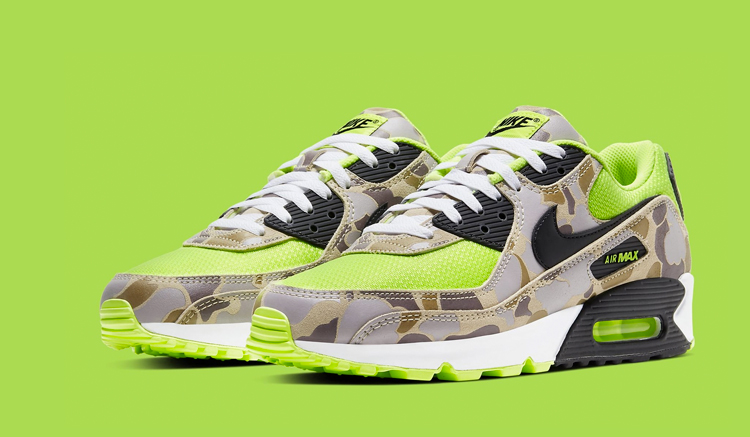 Nike Air Max 90 Volt Duck Camo CW4039-300