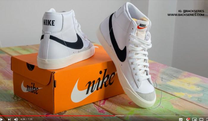 Nike Blazer Mid 77, Review en Backseries TV!