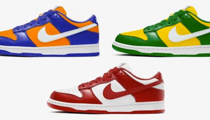 Nuevos colores Nike Dunk Low SP, el swoosh ataca de nuevo!
