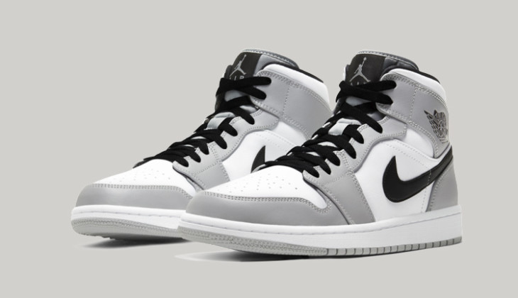 Las Air Jordan 1 Mid Light Smoke Grey, perfectas para un Custom Dior