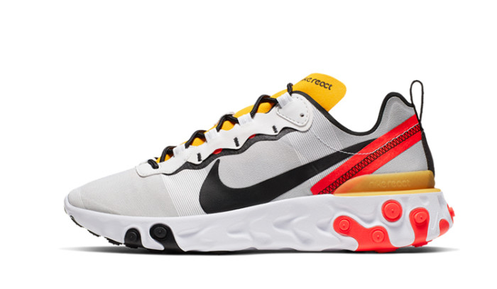 Nike React Element 55 Tour Yellow