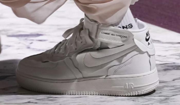 COMME des GARÇONS x Nike Air Force 1, el futuro está aquí!