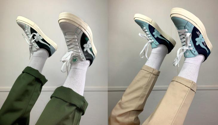 """Golf Le Fleur* X Converse  """"Un enfoque industrial para las One Star"""""""