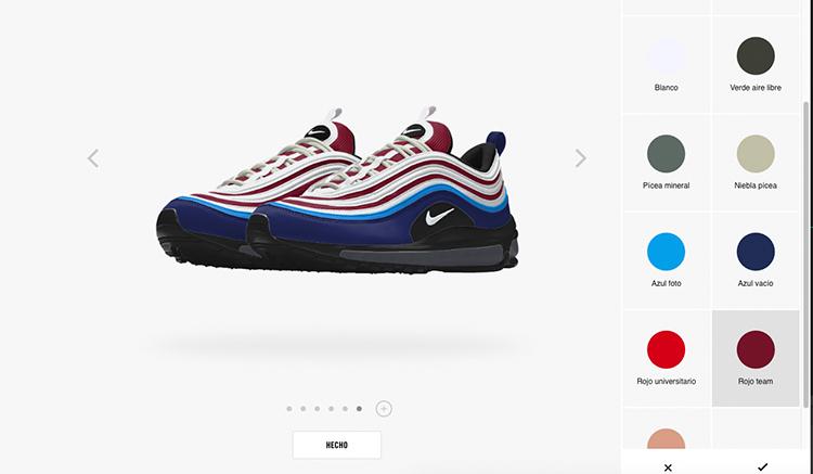 Ahora puedes personalizar unas Nike Air Max 97 con Nike ID