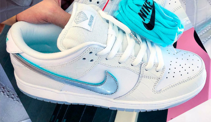 Se revelan las Diamond Supply co x Nike Sb dunk low Tiffany '18