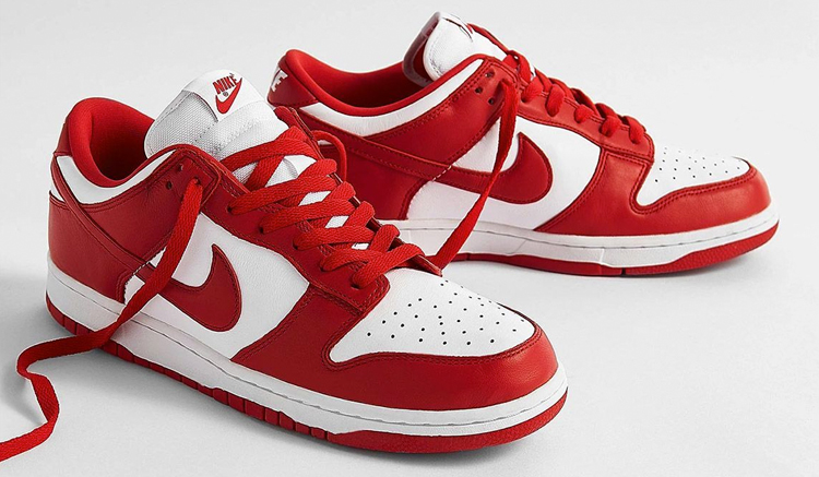 Nike Dunk Low SP University Red CU1727-100