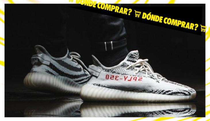 Dónde comprar las adidas Yeezy Boost 350 v2 Zebra este 9 de
