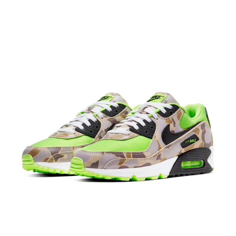 Nike Air Max 90 Duck Camo Green Volt