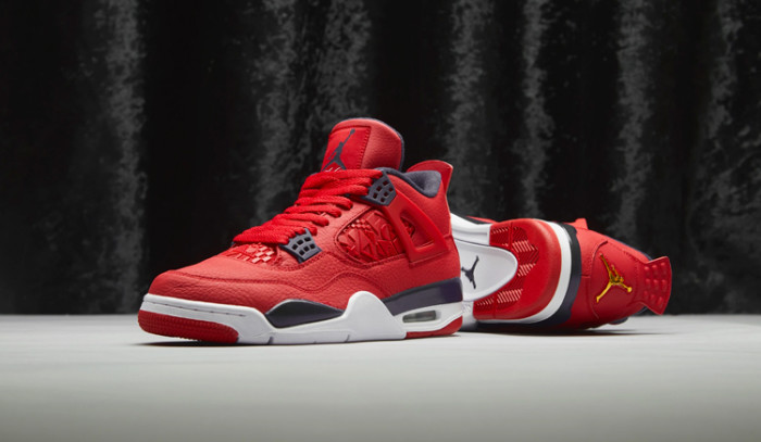 Dónde comprar Air Jordan IV Fiba Gym Red?