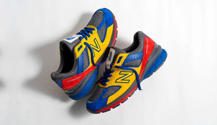EAT Shoe City x New Balance 990 V5