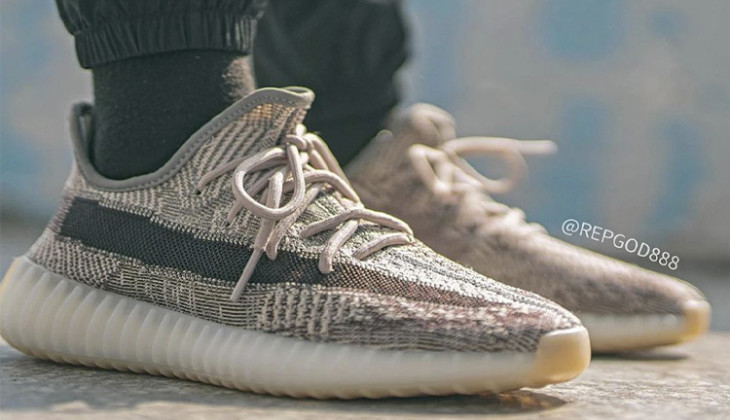 Primeras fotos on-feet de las adidas Yeezy Boost 350 v2 Zyon