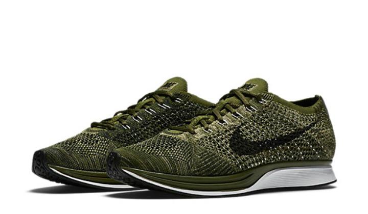 Elige tus nuevas Nike Flyknit Racer green