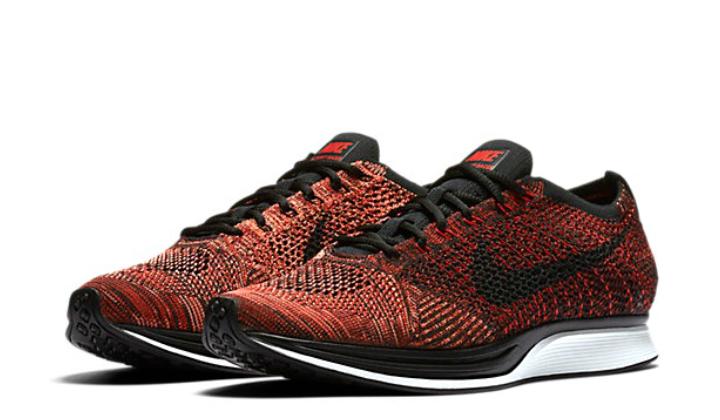 Elige tus nuevas Nike Flyknit Racer red