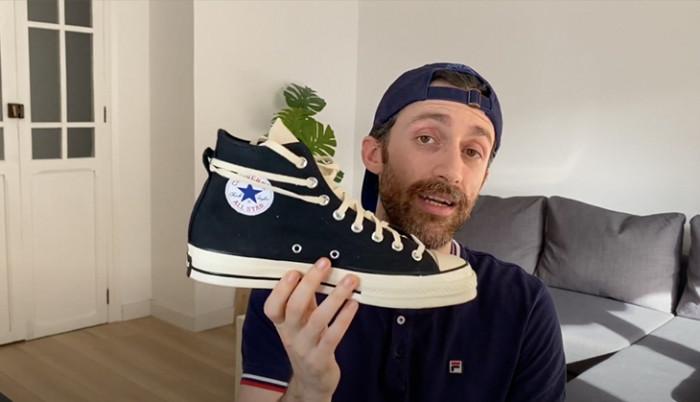 BackseriesTv: Fear of God x Converse Chuck 70 - Mis nuevas sneakers favoritas!