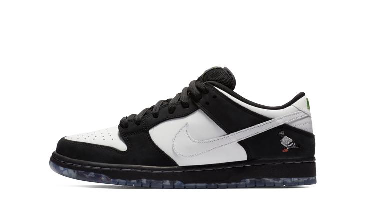 big sale 4b642 70190 Nike Sb Dunk Low Pro Panda Pigeon   BV1310-013   Backseries