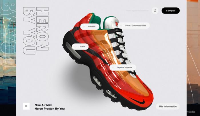 Nos personalizamos nuestras Heron Preston x Nike Air Max 95 By You!