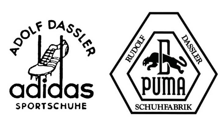 historia de adidas y puma logos adidas puma