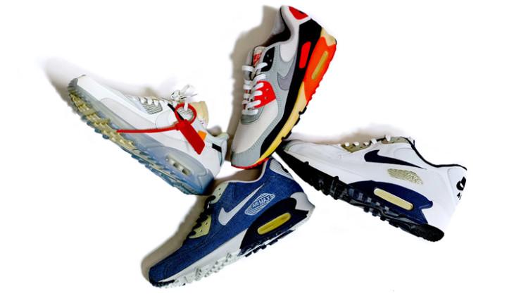 burbuja antes de coser  Historia de las Nike Air Max 90 - Backseries