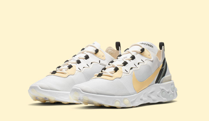 Las Nike React Element 55 Light-Bone están pisando los talones a las 87