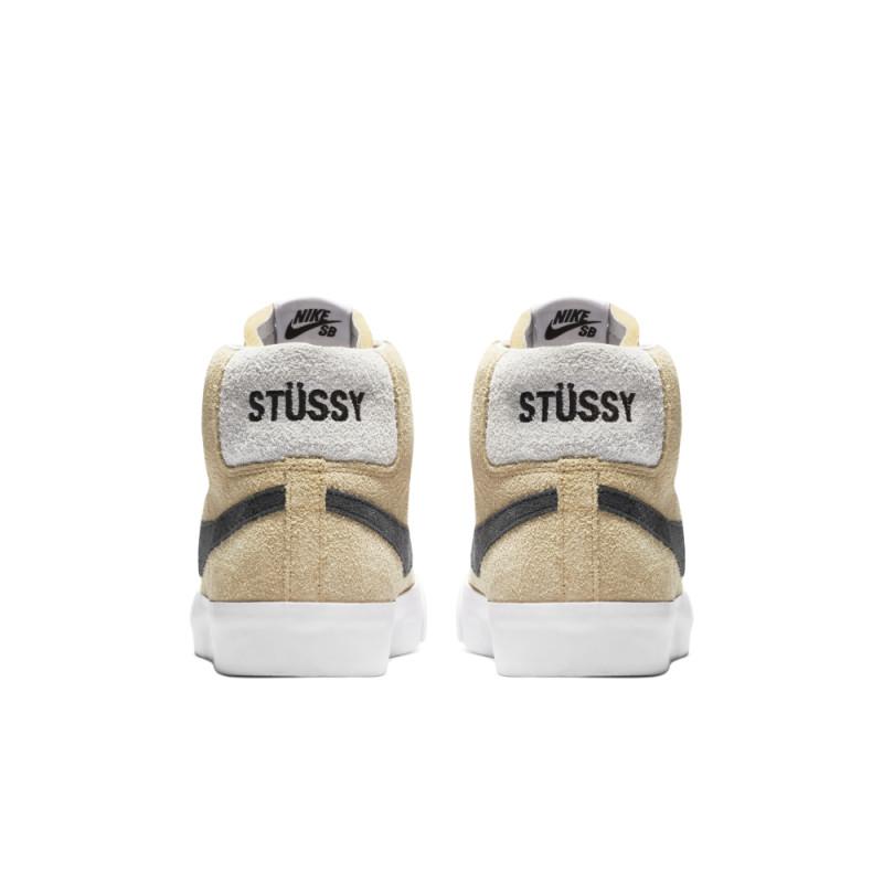 Stussy x Nike Sb Blazer Mid