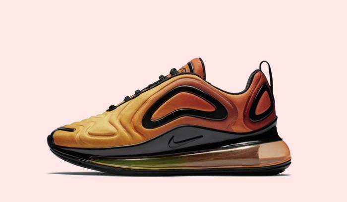 Primer cañonazo de 2019 con las Nike Air Max 720 Gs Sunset
