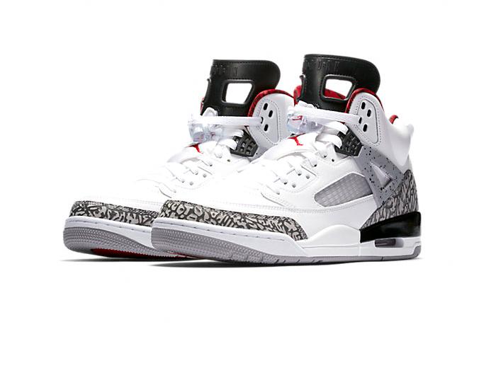 """Jordan Spizike """"White Cement"""""""