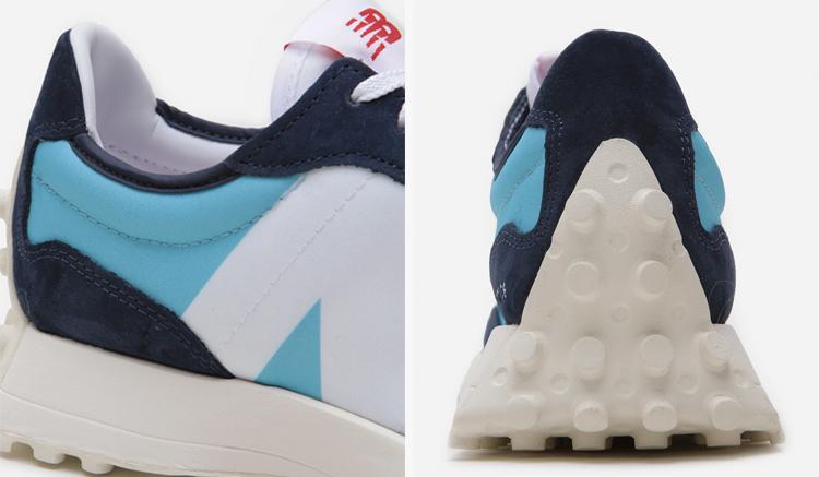New Balance 327 Wax Blue