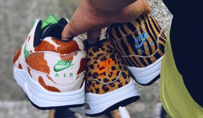 Las Atmos x Nike Air Max 1 Animal pack 3.0 ya son una realidad...