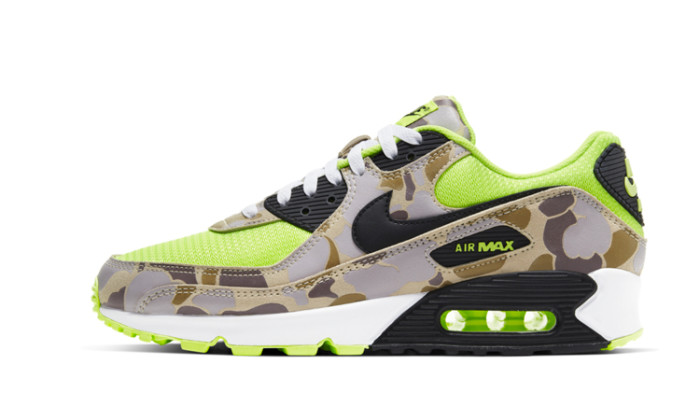 Nike Air Max 90 Duck Camo Green Volt