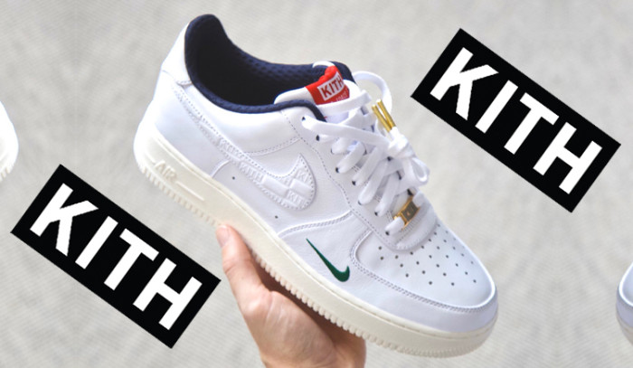 Nueva colabo KITH x Nike Air Force 1 low