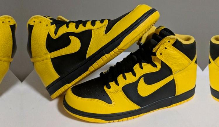 Nike Dunk High Black Varsity Maize CZ8149-002